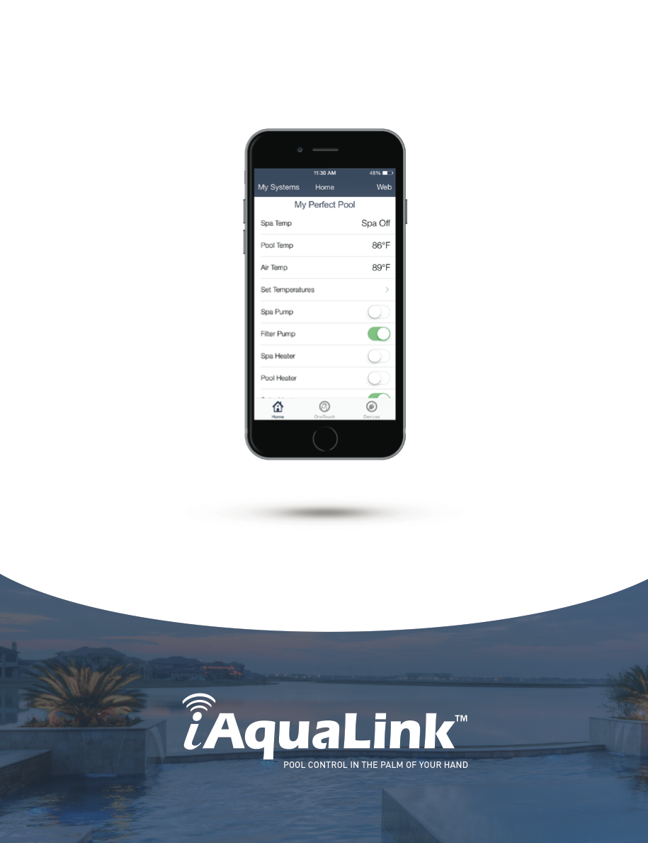 iAquaLink Pool Controller Brochure